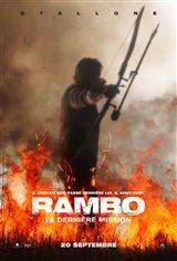 Rambo : La dernière mission Affiche de film
