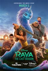 Raya and the Last Dragon Movie Poster Movie Poster