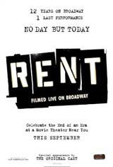 Rent: Filmed Live on Broadway Movie Poster Movie Poster