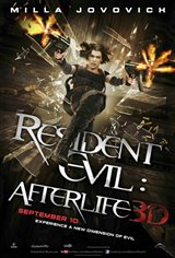 Resident Evil: Afterlife 3D Movie Poster