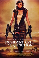 Resident Evil: Extinction Movie Poster