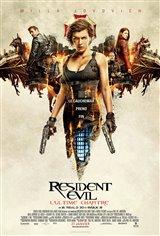 Resident Evil: L'ultime chapitre Movie Poster