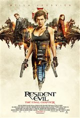 Resident Evil: The Final Chapter  Movie Poster Movie Poster