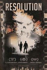 Resolution Affiche de film
