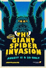 RiffTrax Live: Giant Spider Invasion Large Poster