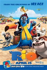 Rio 3D Movie Poster