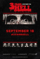 Rob Zombie's 3 From Hell - Night Three Large Poster