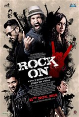 Rock On 2 Affiche de film