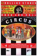 Rolling Stones Rock & Roll Circus Movie Poster