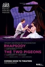 Royal Ballet: Two Pigeons/Rhapsody Movie Poster