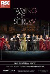 Royal Shakespeare Company: The Taming of the Shrew Affiche de film