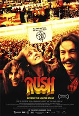 Rush: Beyond the Lighted Stage Movie Poster