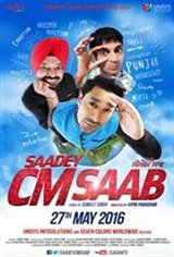 Saadey CM Saab Movie Poster