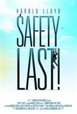Safety Last! Movie Poster