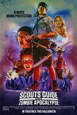 Scouts Guide to the Zombie Apocalypse Movie Poster Movie Poster