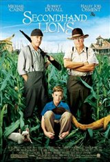 Secondhand Lions Movie Poster Movie Poster
