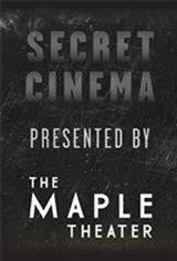 Secret Cinema: Old Hollywood Movie Poster