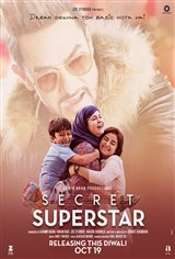 Secret Superstar (Hindi w/e.s.t.) Affiche de film