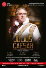 Shakespeare's Globe on Screen: Julius Caesar Movie Poster