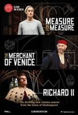 Shakespeare's Globe Theatre: Measure for Measure Movie Poster