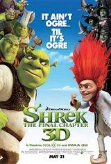 Shrek Forever After 3D Movie Poster