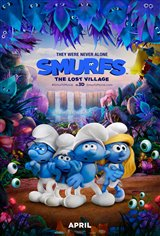 Smurfs: The Lost Village Movie Poster