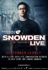 Snowden Live Movie Poster
