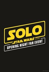 Solo: A Star Wars Story Opening Night Fan Event Large Poster