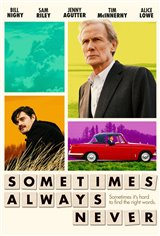 Sometimes Always Never Movie Poster Movie Poster