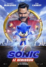 Sonic le hérisson Movie Poster