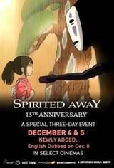 Spirited Away: 15th Anniversary Movie Poster