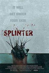 Splinter Movie Poster Movie Poster