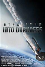 Star Trek Into Darkness 3D Movie Poster