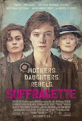 Suffragette Movie Poster Movie Poster