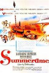 Summertime (1955) Movie Poster