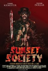 Sunset Society Large Poster