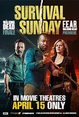 Survival Sunday: The Walking Dead/Fear the Walking Dead Large Poster