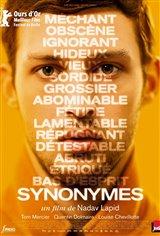 Synonymes (v.o.s.-t.f.) Affiche de film