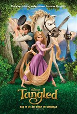 Tangled 3D Movie Poster