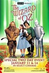 TCM Presents The Wizard of Oz Movie Poster