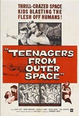 Teenagers from Outer Space Movie Poster