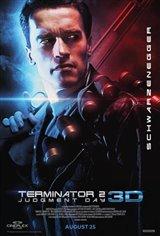 Terminator 2 : Le jugement dernier 3D (v.o.a.s-t.f.) Affiche de film