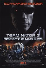 Terminator 3: Rise Of The Machines Movie Poster Movie Poster