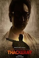 Thackeray (Hindi) Large Poster