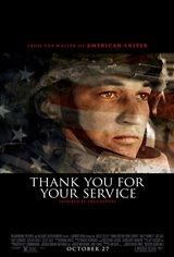 Thank You for Your Service (v.o.a.) Affiche de film