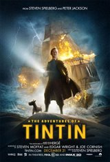 The Adventures of Tintin 3D Movie Poster