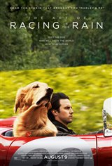 The Art of Racing in the Rain Movie Poster Movie Poster