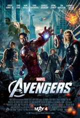 The Avengers 3D Movie Poster