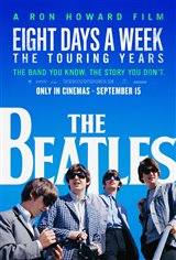 The Beatles: Eight Days a Week - The Touring Years Movie Poster Movie Poster