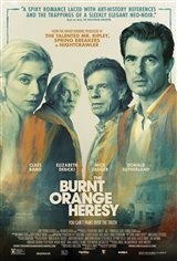 The Burnt Orange Heresy Movie Poster Movie Poster